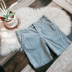 Abercrombie & Fitch stripped shorts